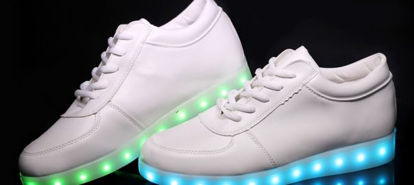 Shoes Boy Girls Shoes2019 Light Shoes Led Luminous Shoes Usb Charging Colorful Light Board Shoes Modern Design