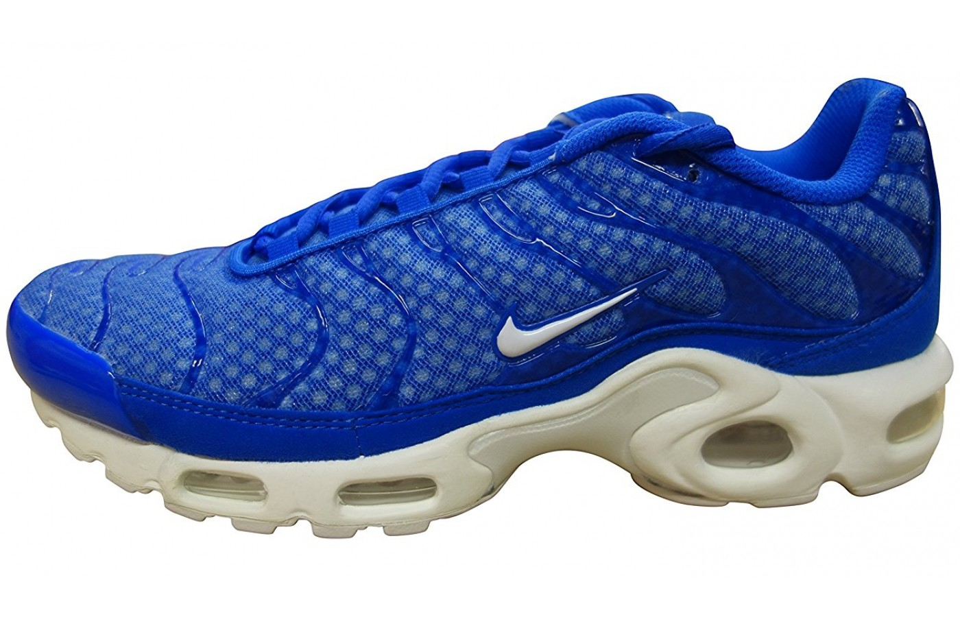 watch e2ae9 373d7 ... A side view of the Nike Air Max Plus shoe ...
