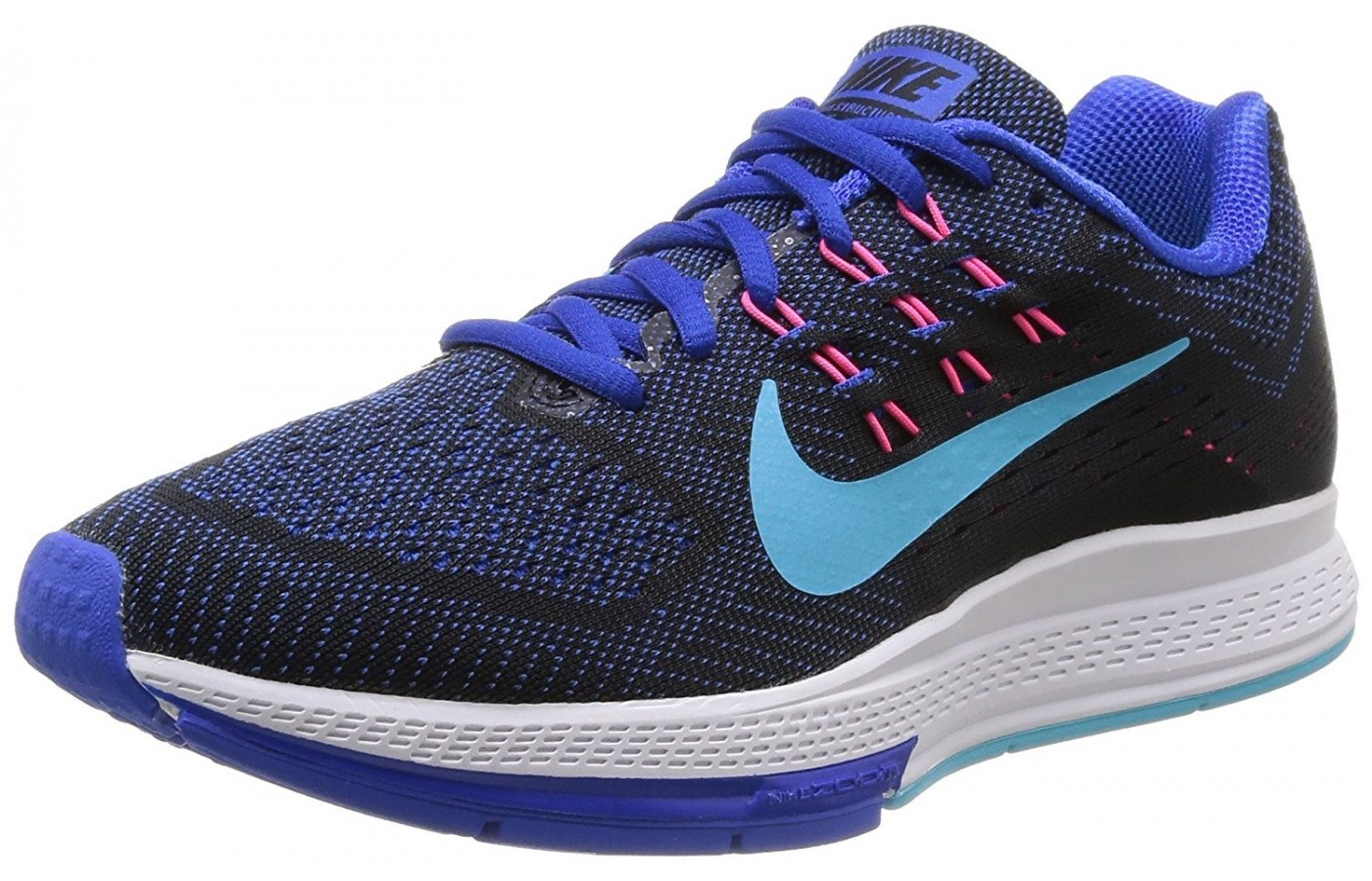official photos 802ea b6c20 A three quarter view of the Nike Air Zoom Structure running shoe ...