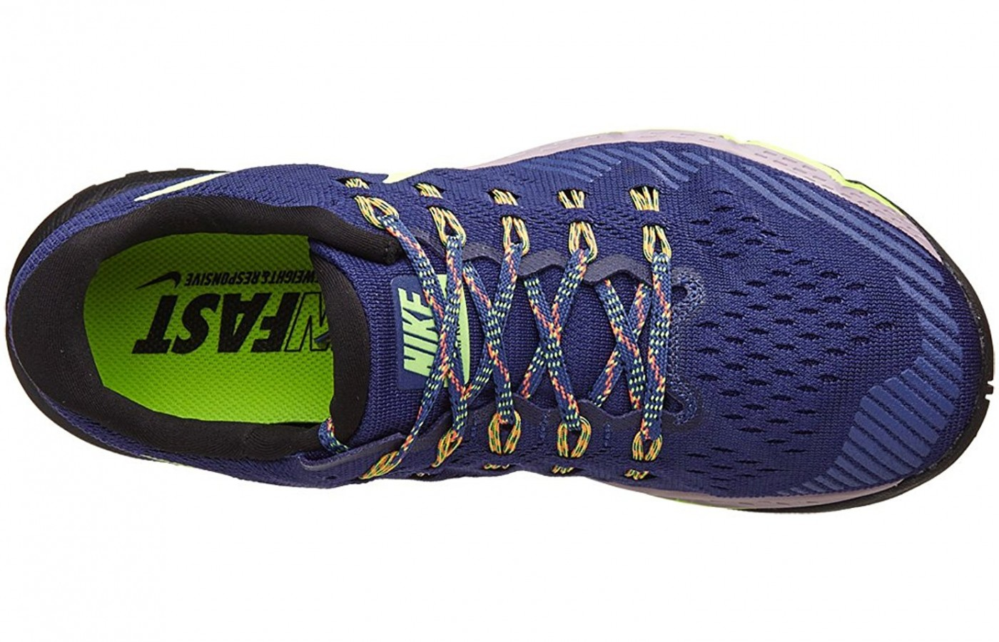 A Top View of the Nike Air Zoom Terra Kiger 3 Running Shoe