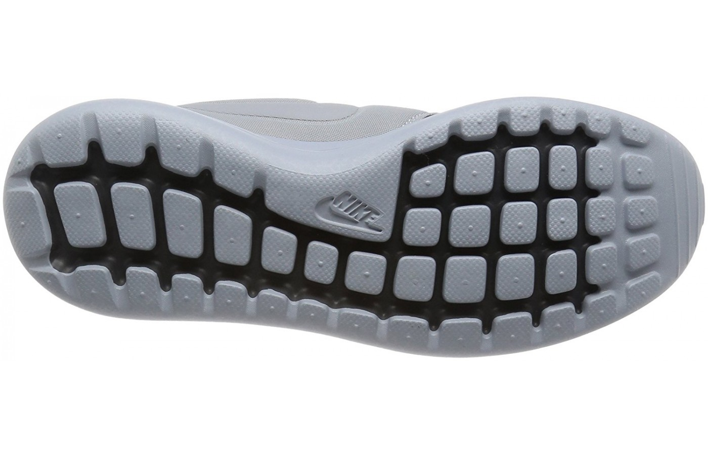 A bottom view of the Nike Roshe 2 running shoe