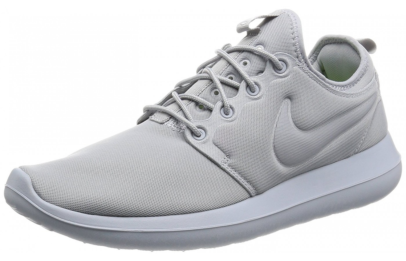 A three quarter view of the Nike Roshe 2 running shoe