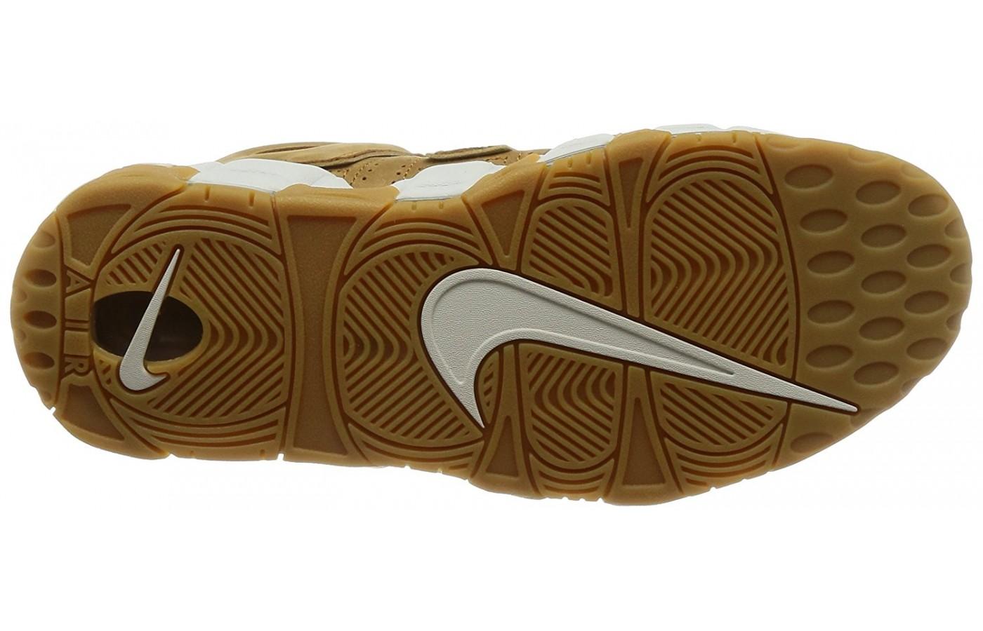 bottom of Nike Air More Uptempo