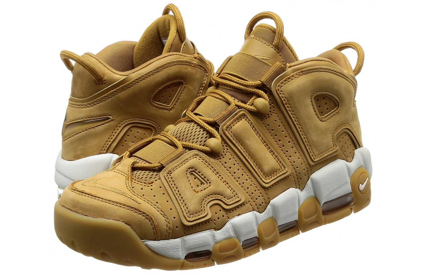 pair of Nike Air More Uptempo