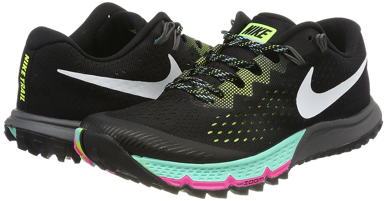 A pair of Nike Air Zoom Terra Kiger 4 running shoes
