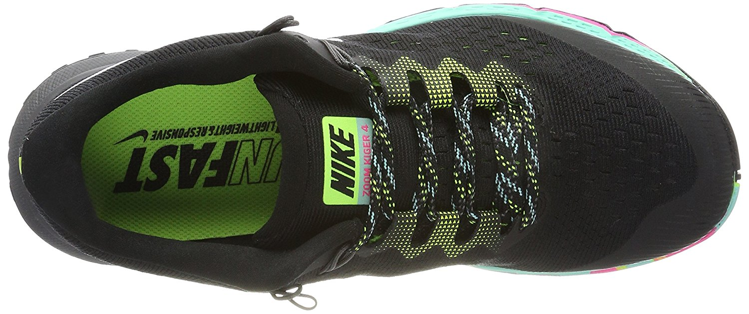 A top view of the Nike Air Zoom Terra Kiger 4 running shoe