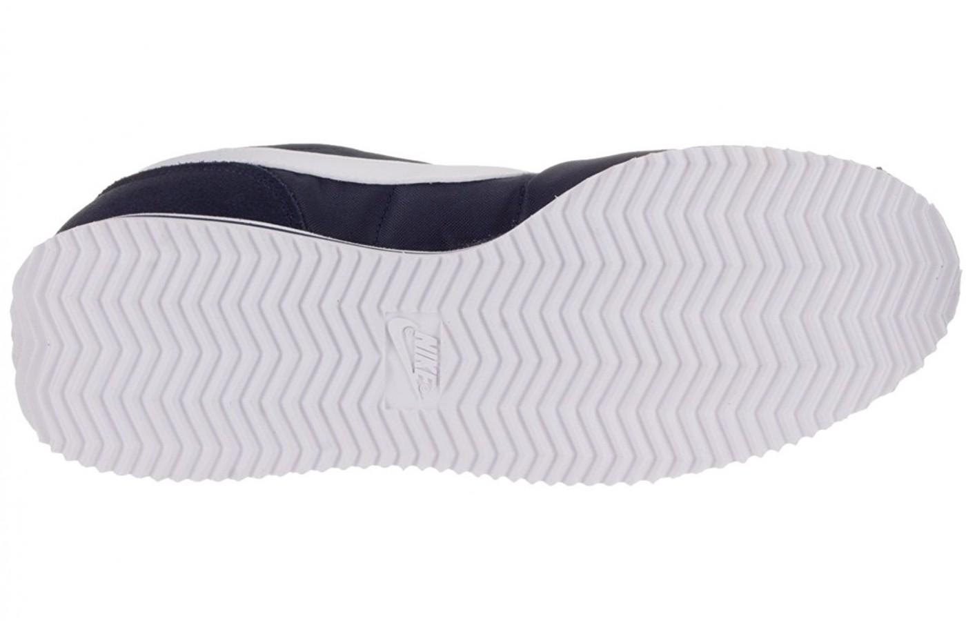 Full view of the Herringbone pattern on the Nike Cortez