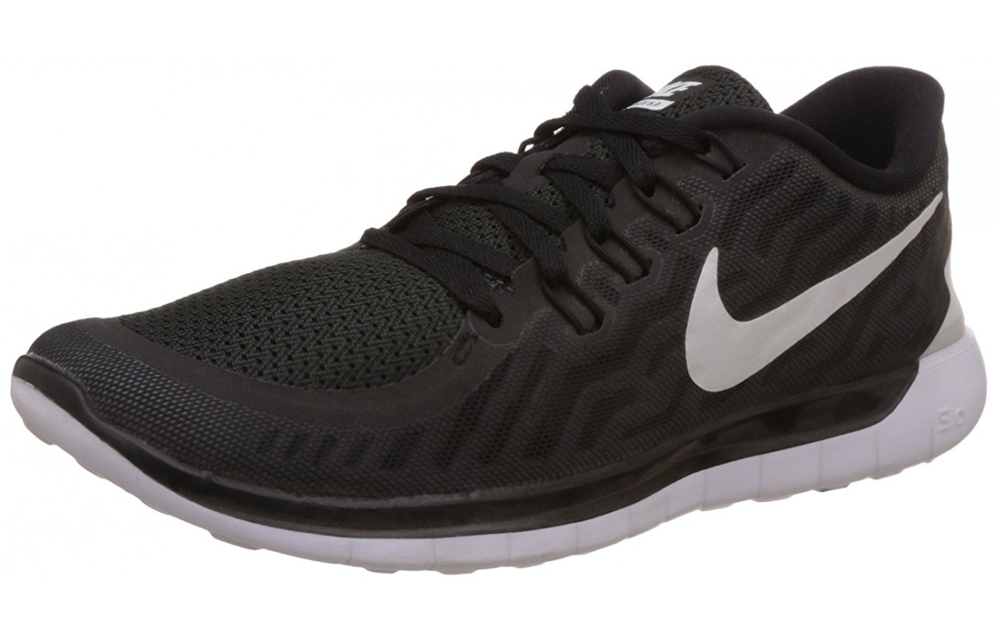 new style 61705 947c4 angled view of the Nike Free 5.0 ...