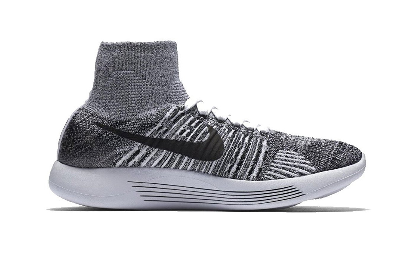best service 2d892 975ee Nike Lunarepic Flyknit Reviewed   Tested for Performance. Full pair of the  Lunarepic  Full sideview of the lunarepic ...