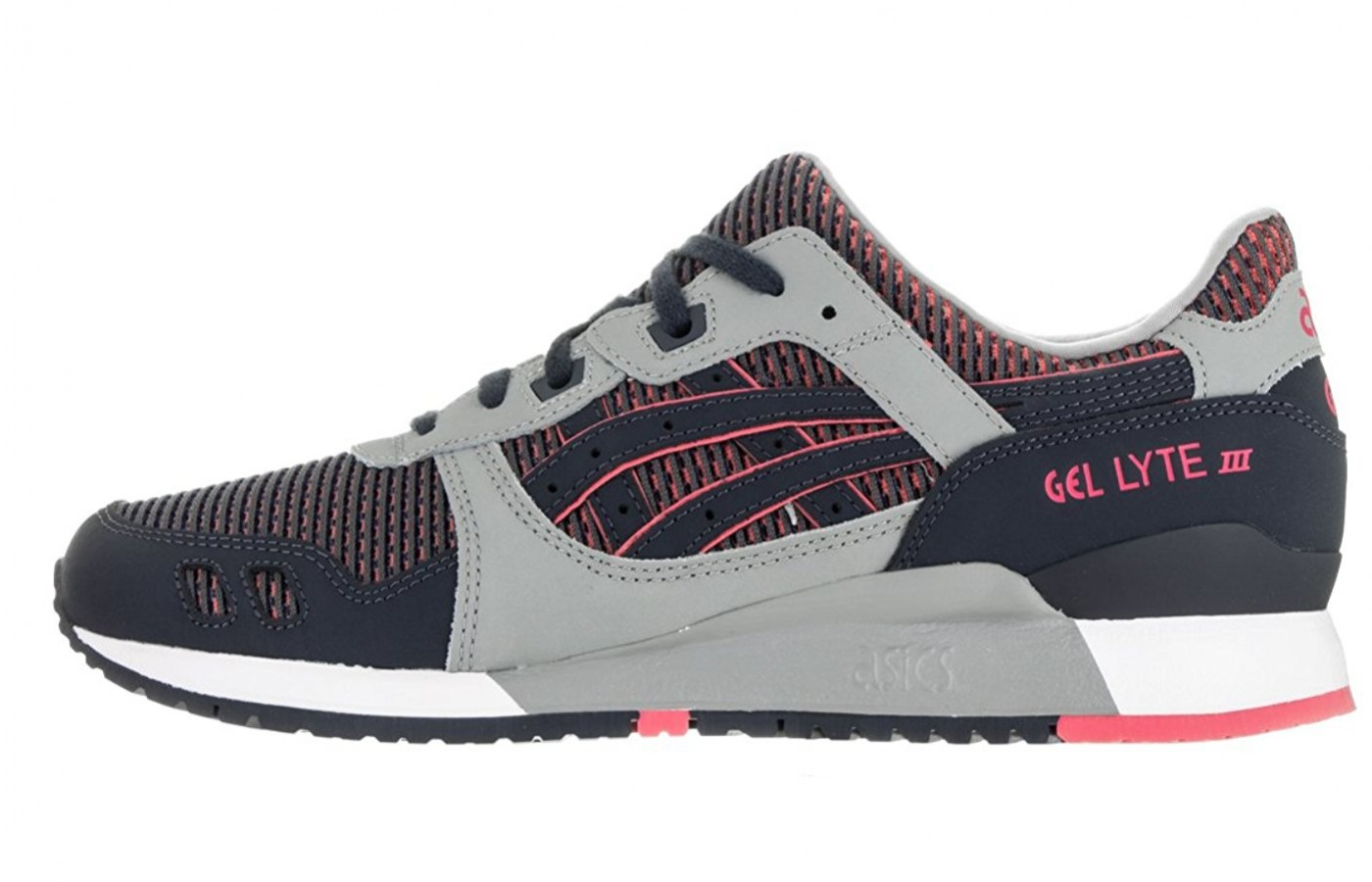 right to left view of the asics gel lyte III