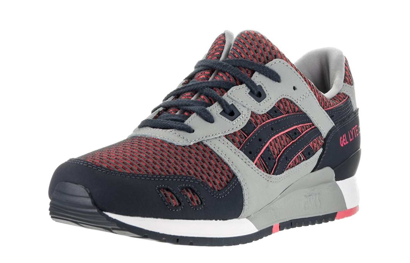 angled view of the Asics gel lyte III
