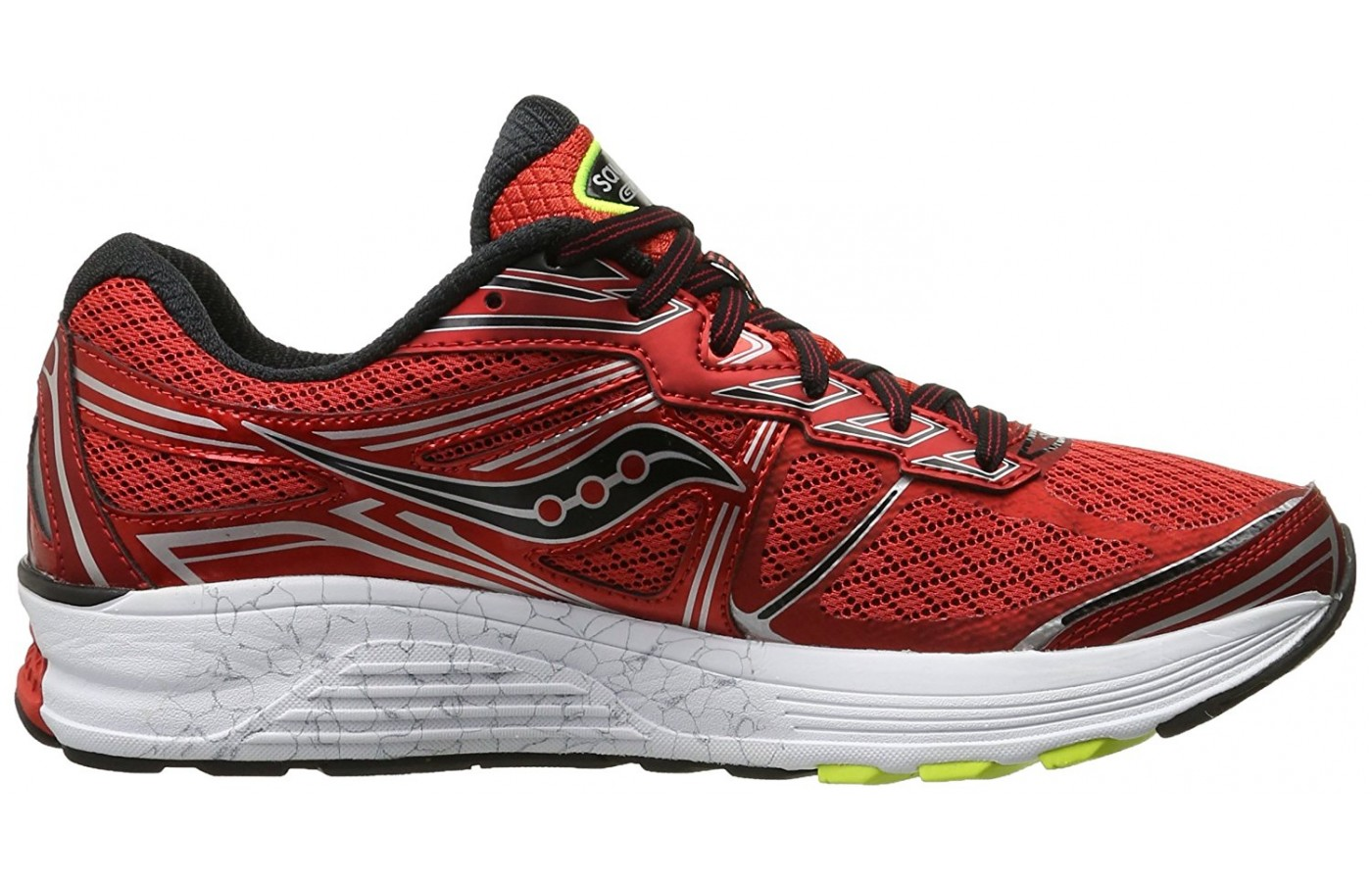 left to right view of the Saucony Guide 9