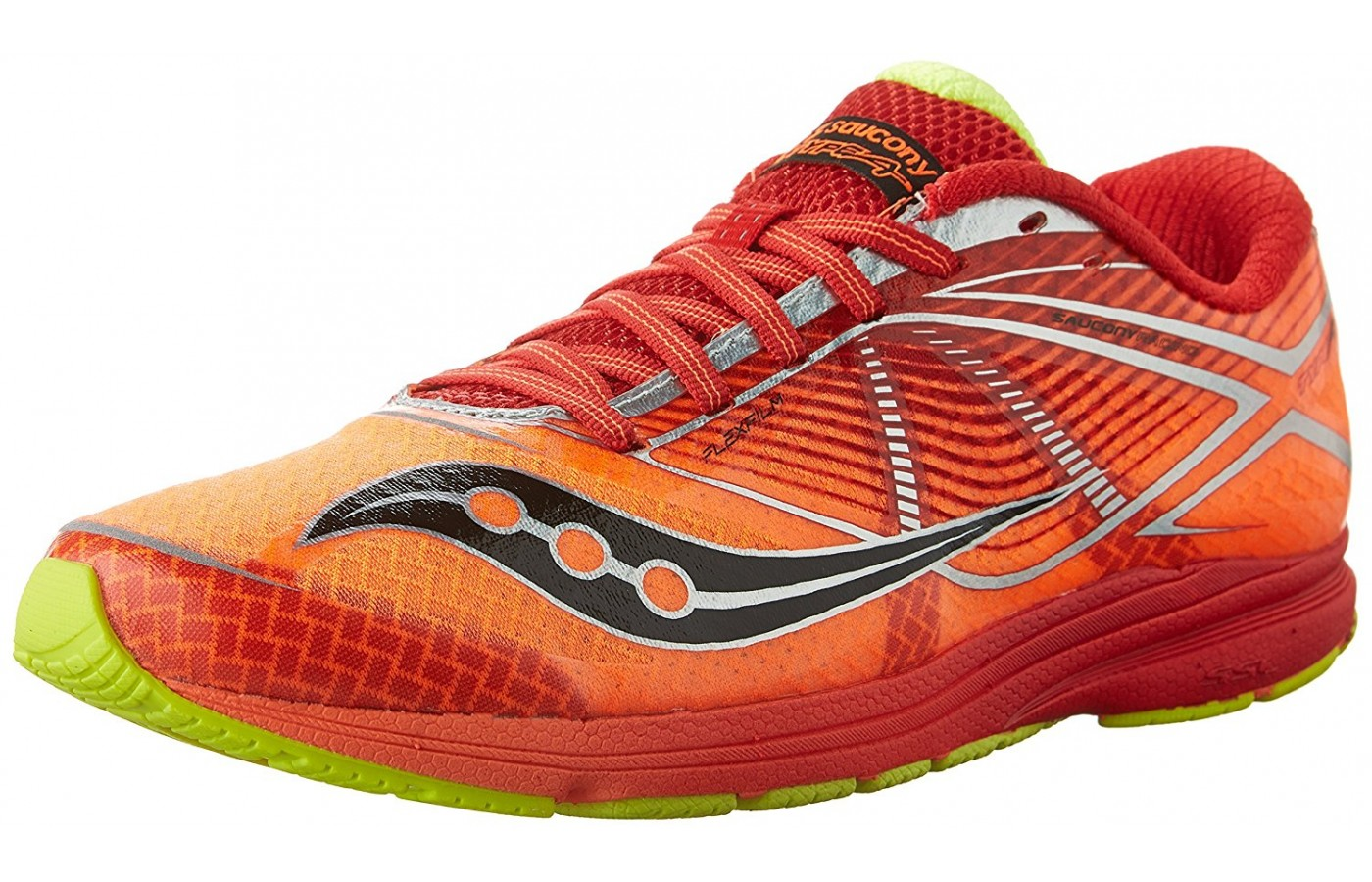 saucony type a6 angled