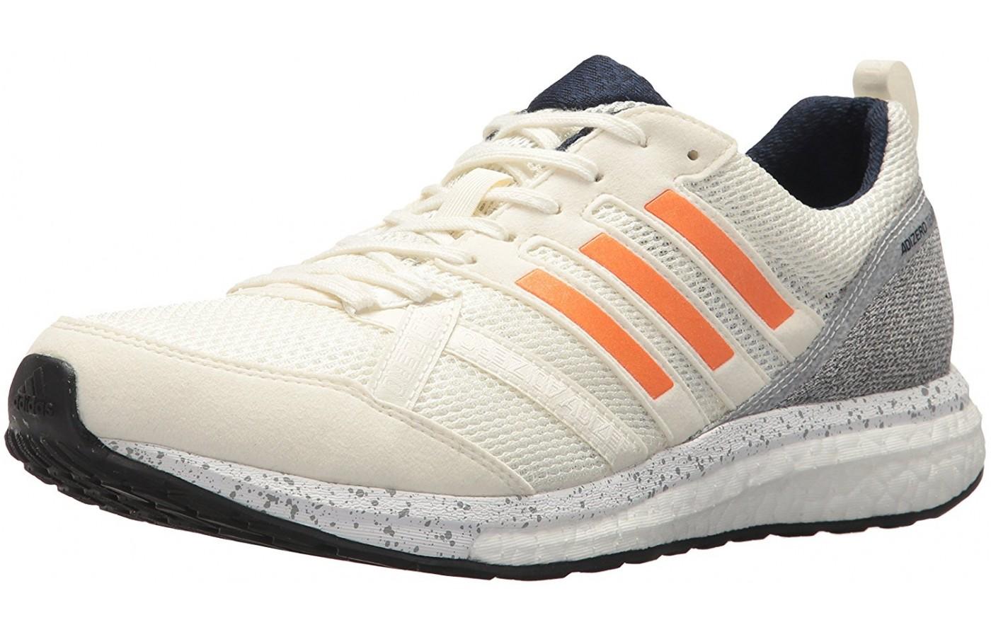 Adidas Adizero Tempo 8 angled