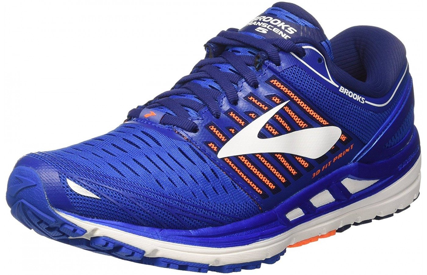 Brooks Transcend 5 angled