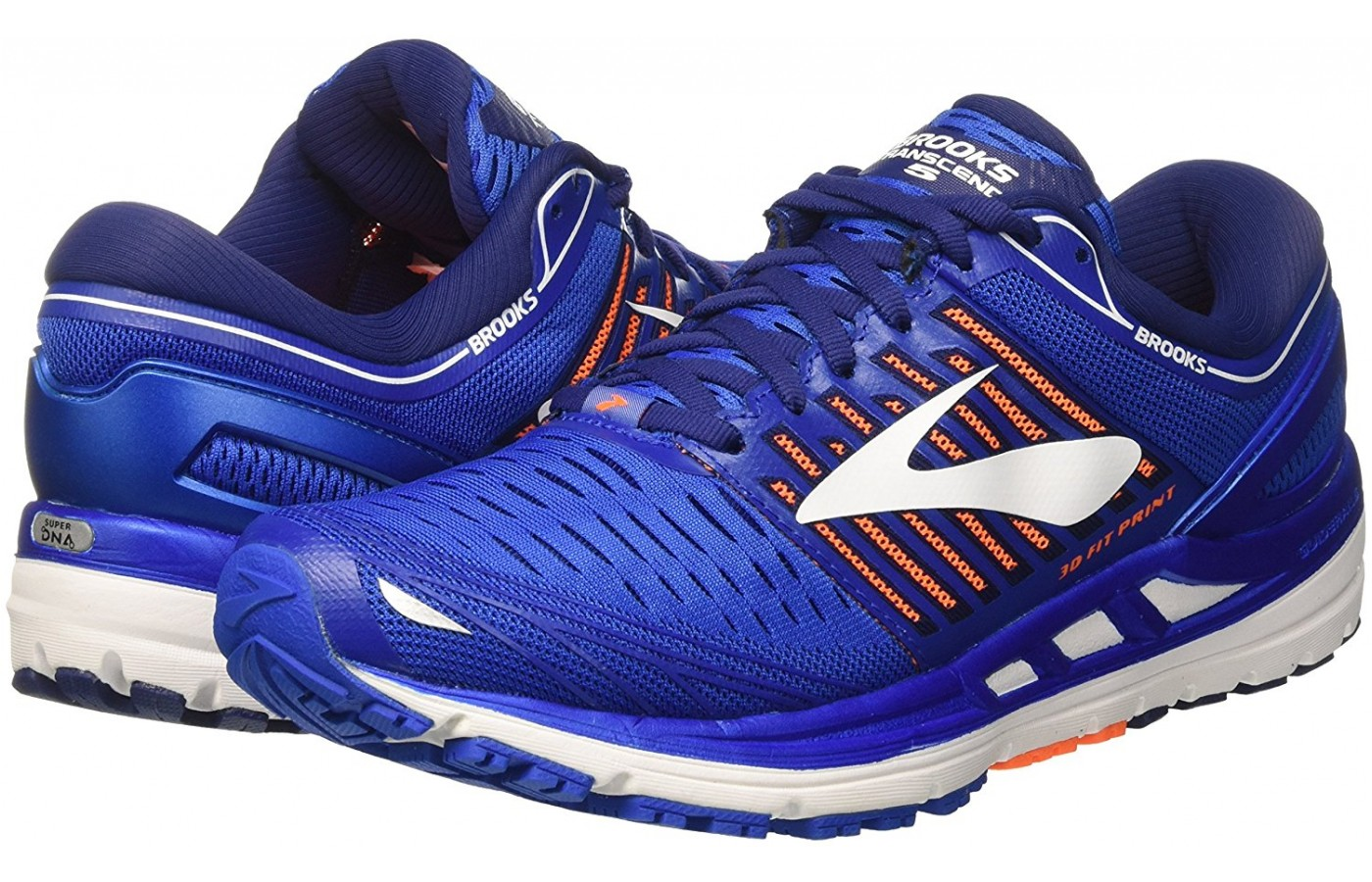 Brooks Transcend 5 pair