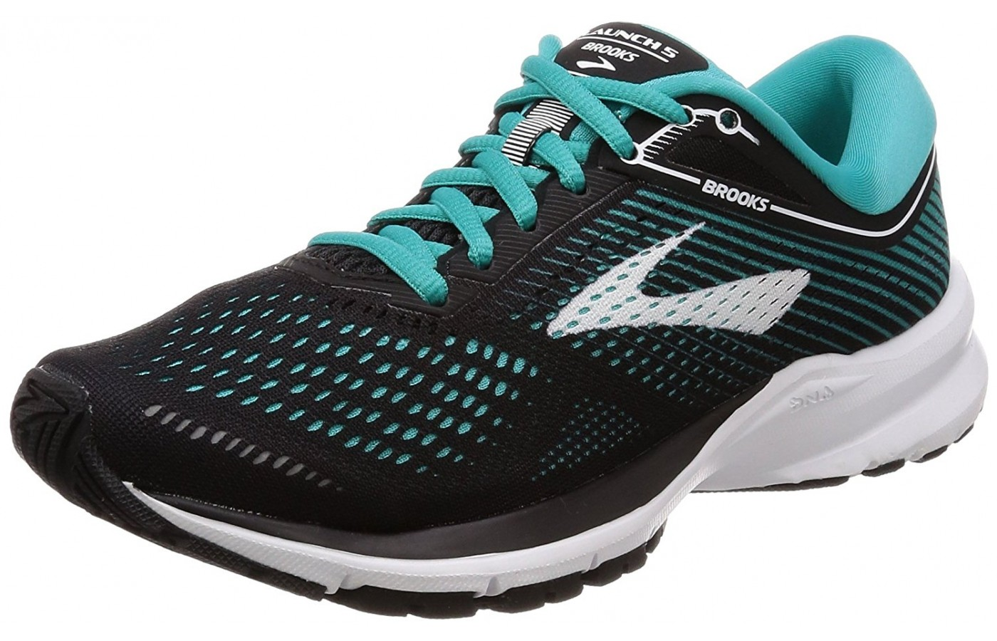 Brooks Launch 5 angled
