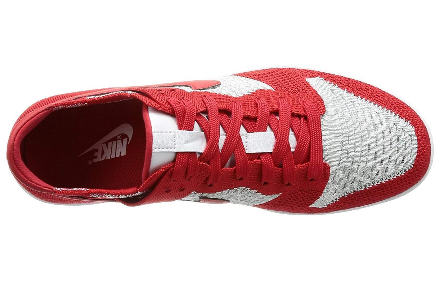 Nike Dunk Flyknit upper