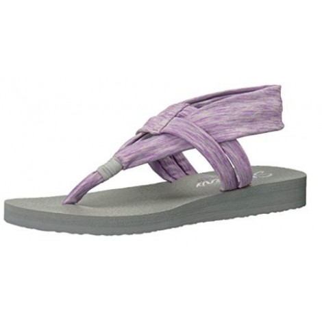 skechers flip flops memory foam