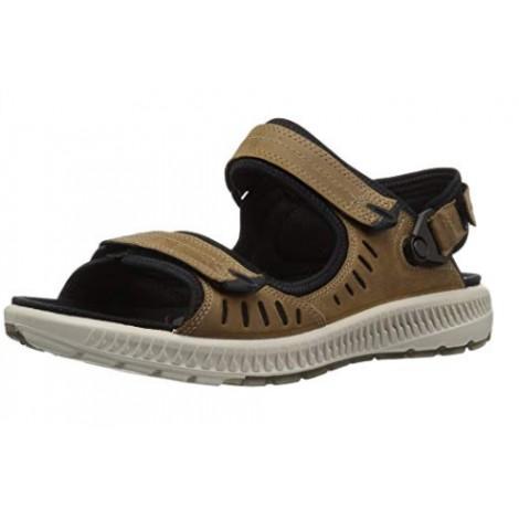 Ecco Offroad Lite Gravel Moon Rock Womens Nubuck Strappy Activity Sport Sandals