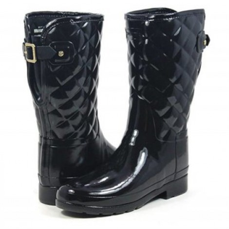 image of Original Refined Short Quilted best hunter boots