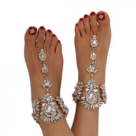 Crystal Wedding Sandals
