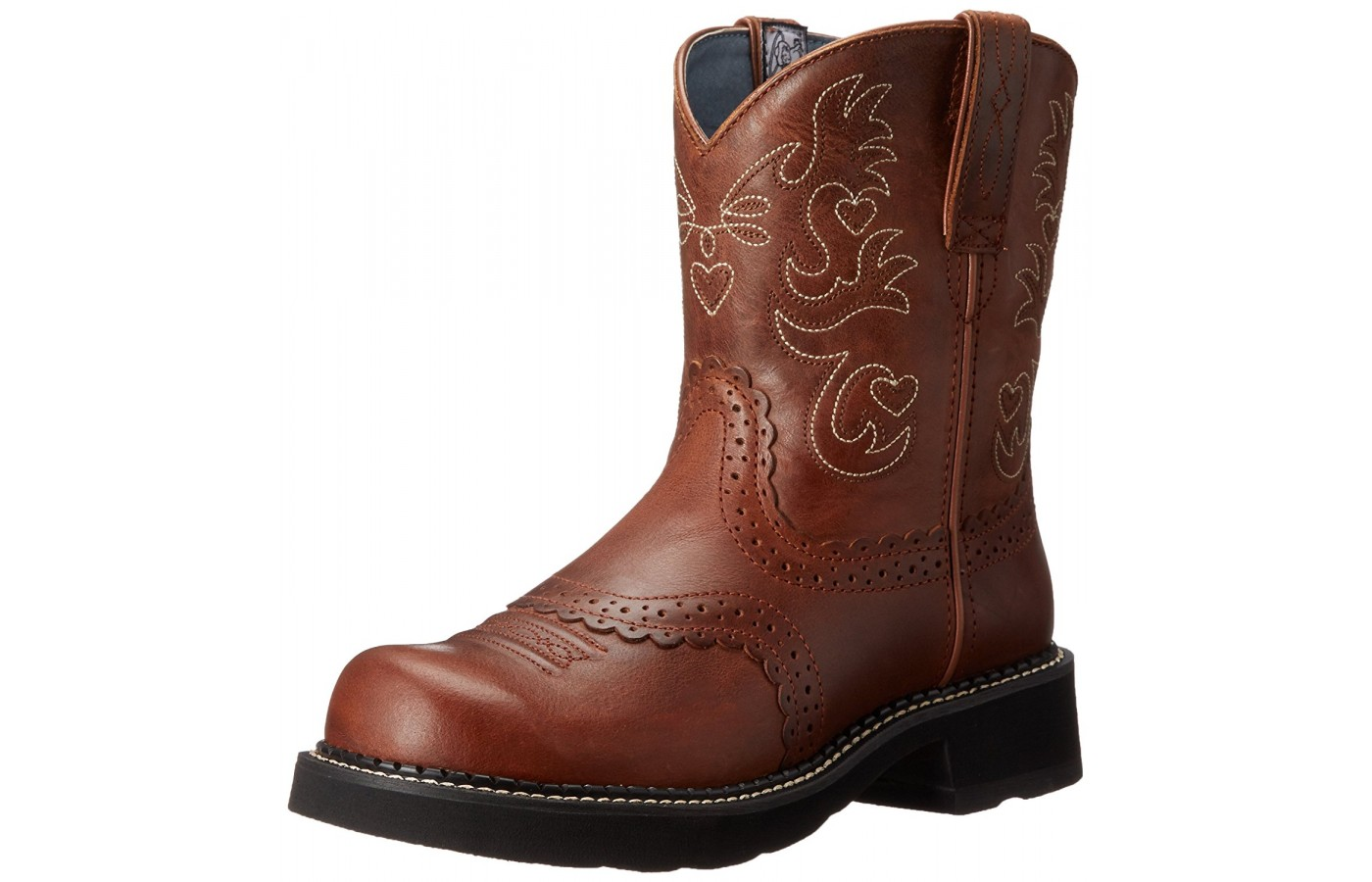 Angled view of the Ariat Fatbaby