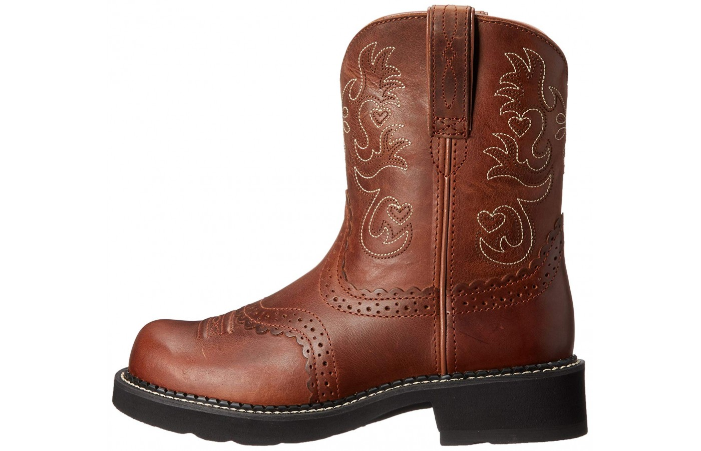 Ariat Fatbaby viewed from the left side