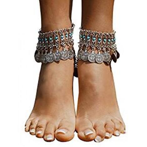 Boho Coin Sandals