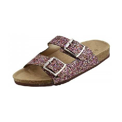 Forever Glitter Slip-on Sandals