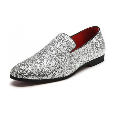 Gentle Shoes Sequined Loafers