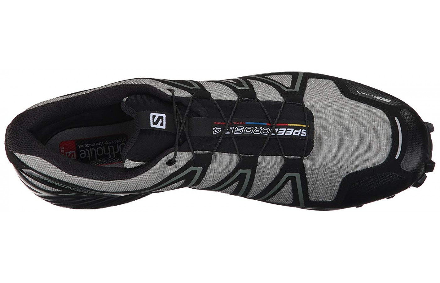 The Salon Speedcross 4 has a quick lace system