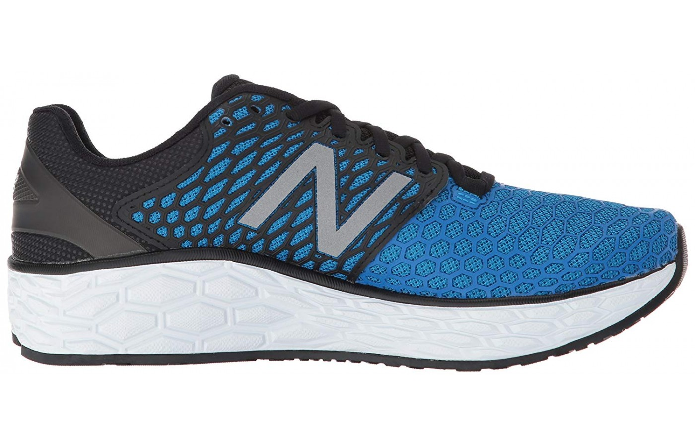 The New Balance Fresh Foam Vongo V3 shown from the side