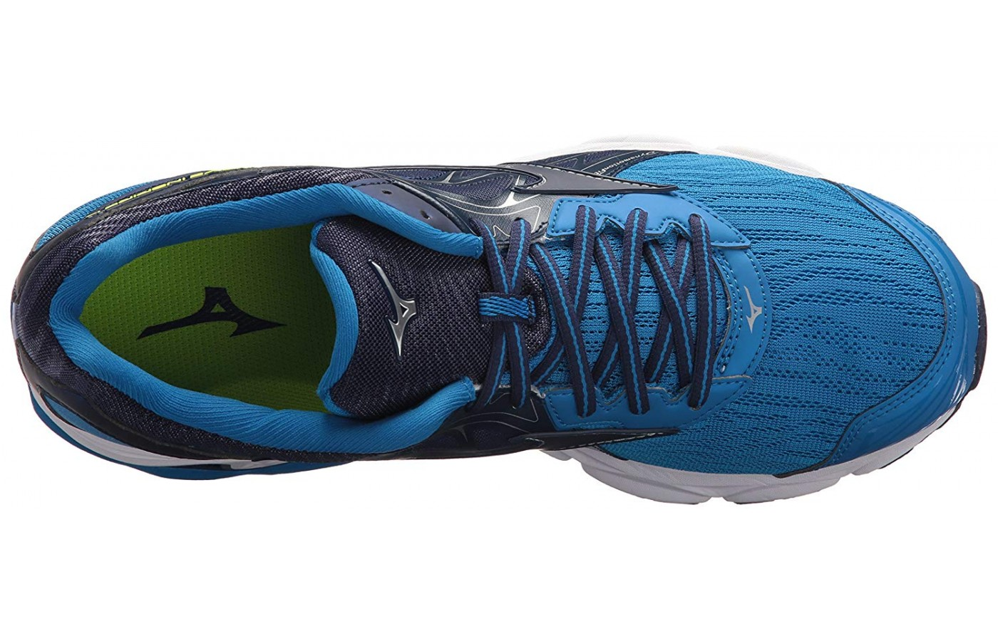 The top view of the Mizuno Wave Inspire 14