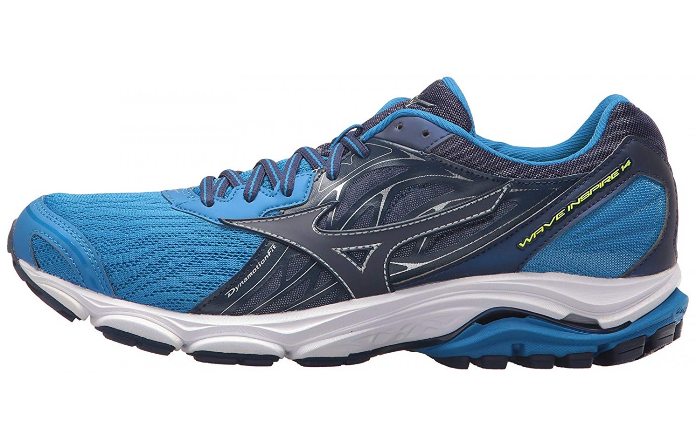 The Mizuno Wave Inspire 14 has very soft cushioning