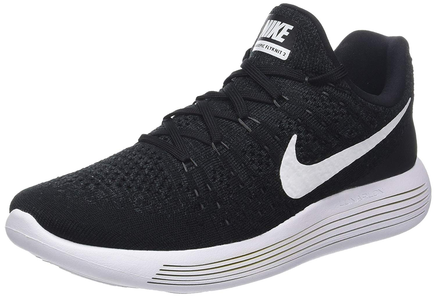 This is an angled view of the Nike LunarEpic Low Flyknit 2