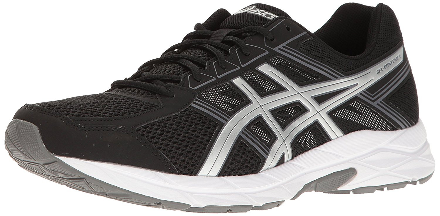 This is an angled view of the Asics Gel Contend 4