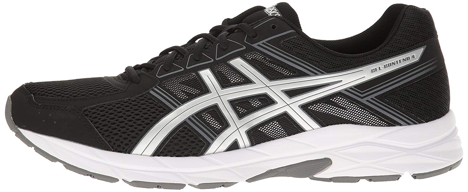 The Asics Gel Contend 4 left angle
