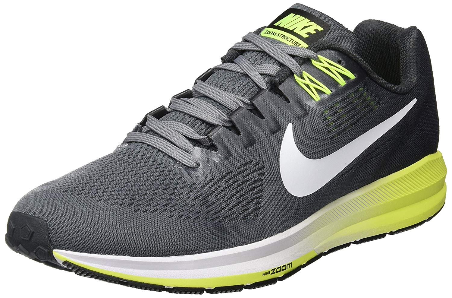 7ec8f010888 Nike Air Zoom Structure 21. This is an angled view of the Zoom Structure 21  ...