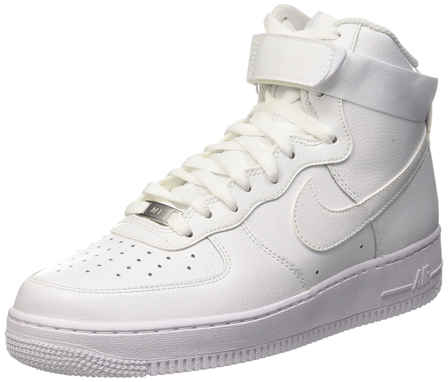 the latest 9b640 327ac Nike Air Force 1 High Top Angled View ...