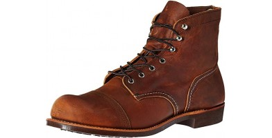 Red Wing Iron Ranger Dual-layered Toe