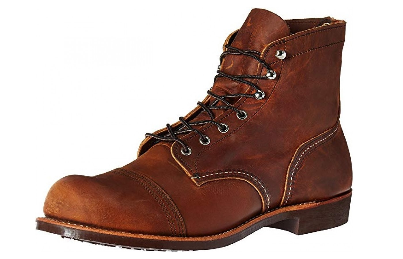 Red Wing Iron Ranger Dual-layer Toe Box