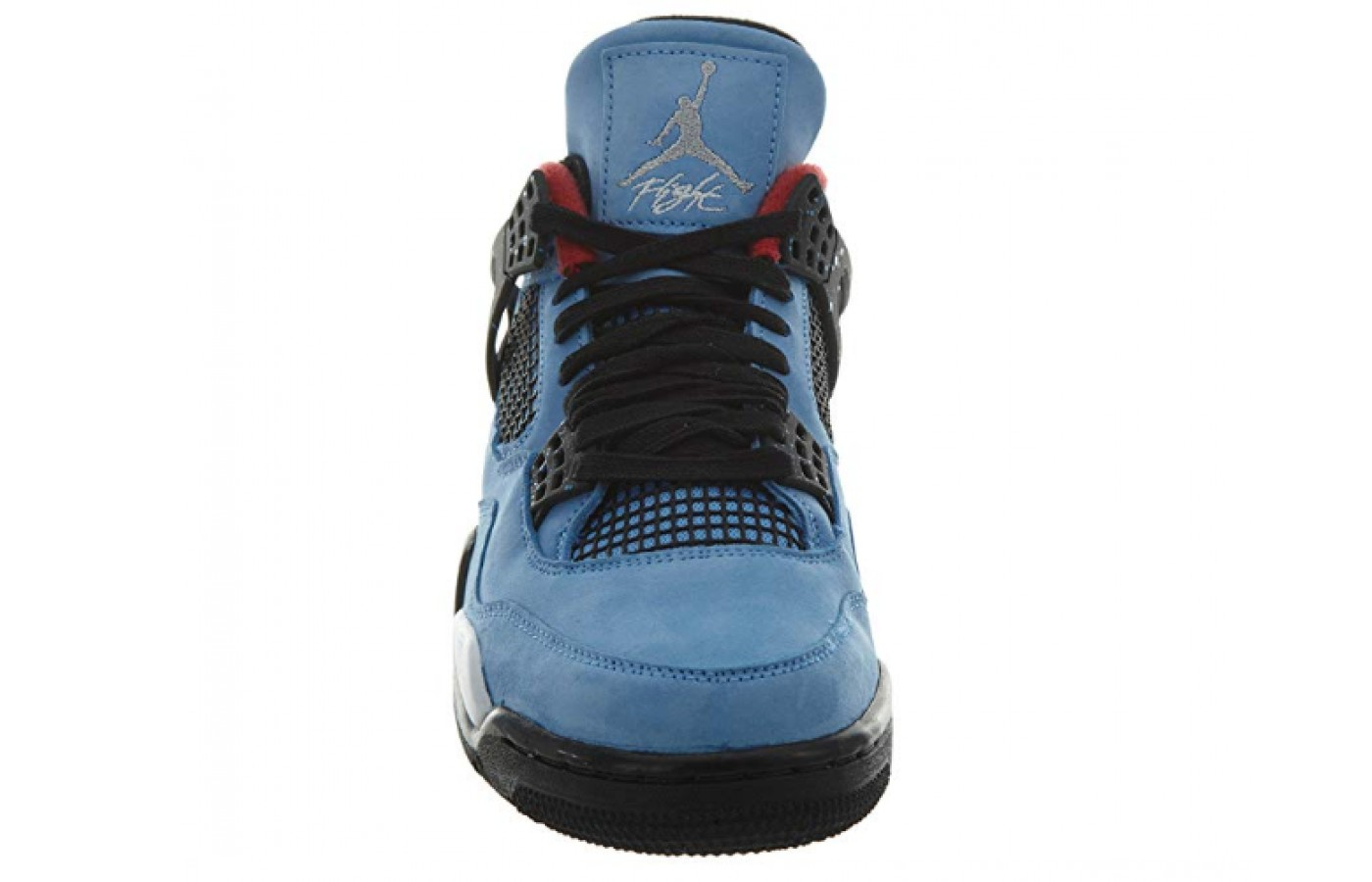Jordan 4 Retro Travis Scott Cactus Jack Style Sneakers  front