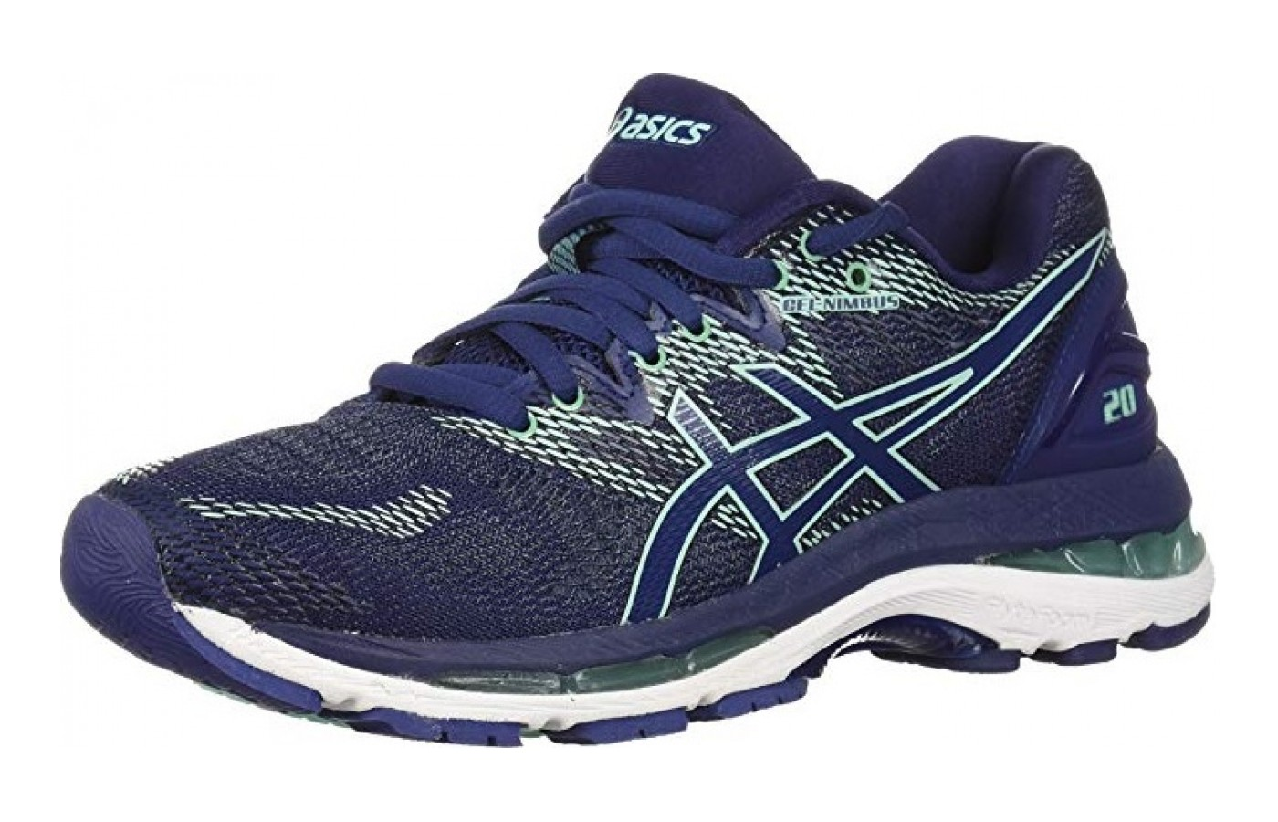 low priced 9a476 a7d61 Asics Gel Nimbus 20 Angled ...