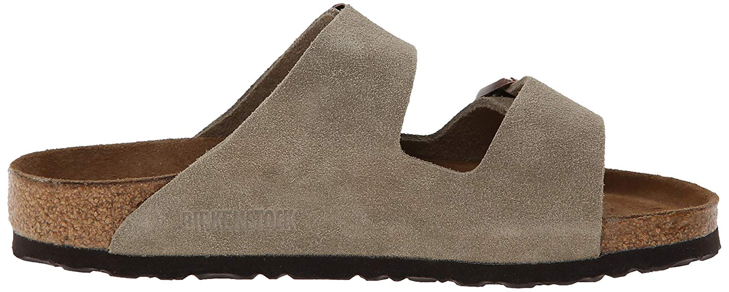 An impression of the Birkenstock brand name can be seen on the inner arch.