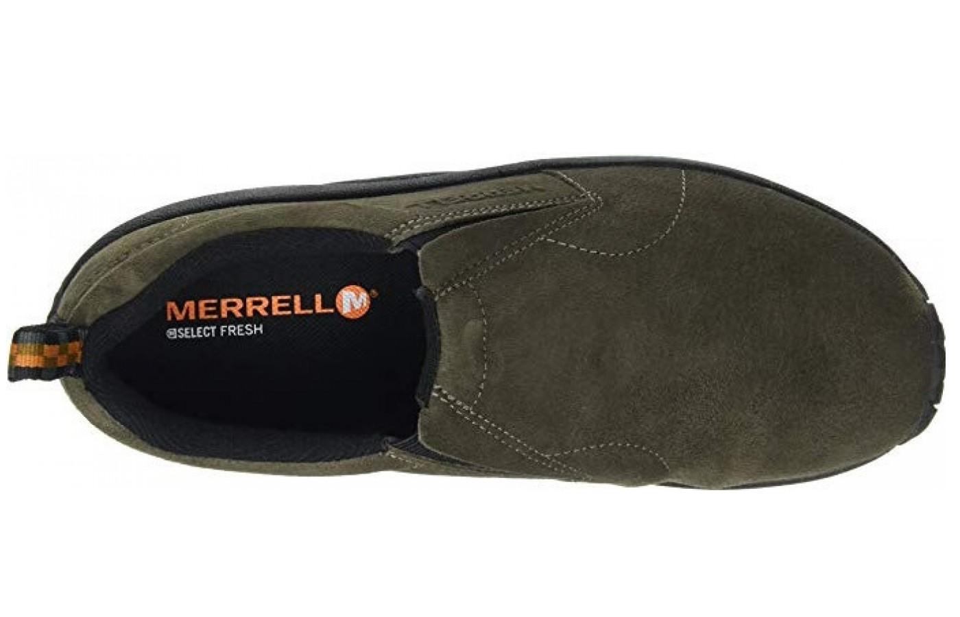Merrell Jungle Moc Suede Upper