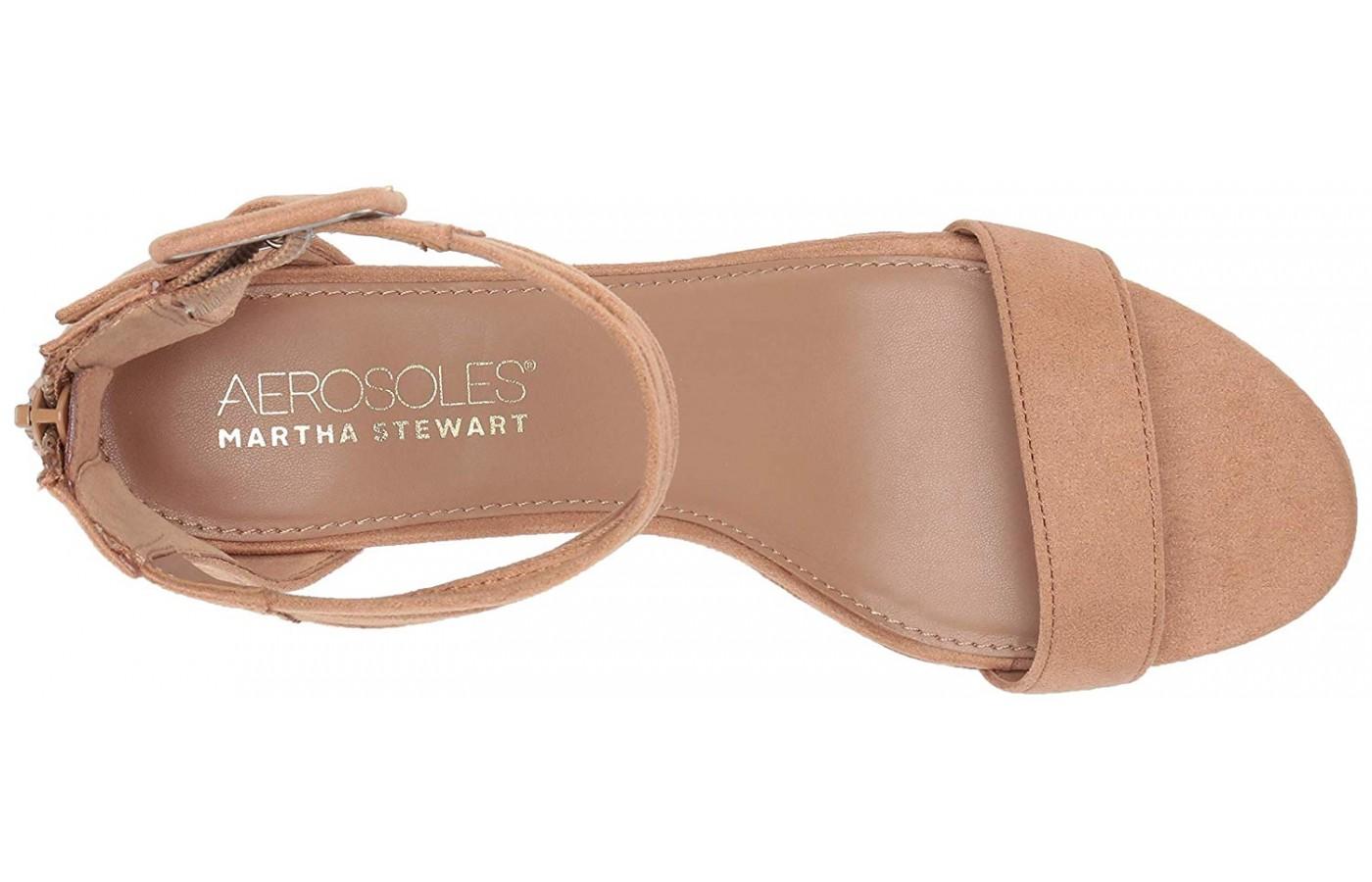 Aerosoles Martha Stewart Mid Year memory foam footbed