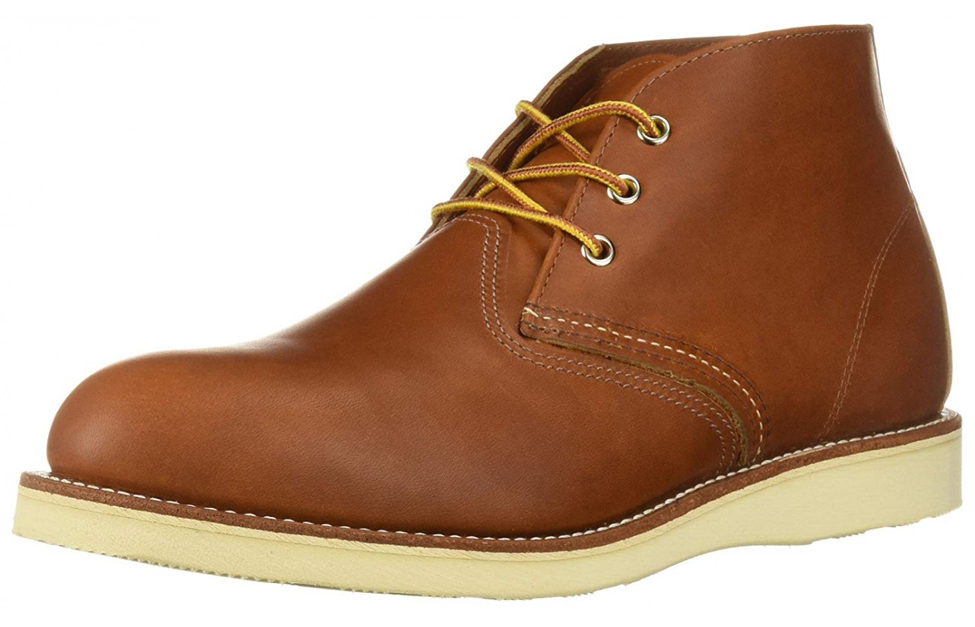 Red Wing Heritage Work Chukka Angled View