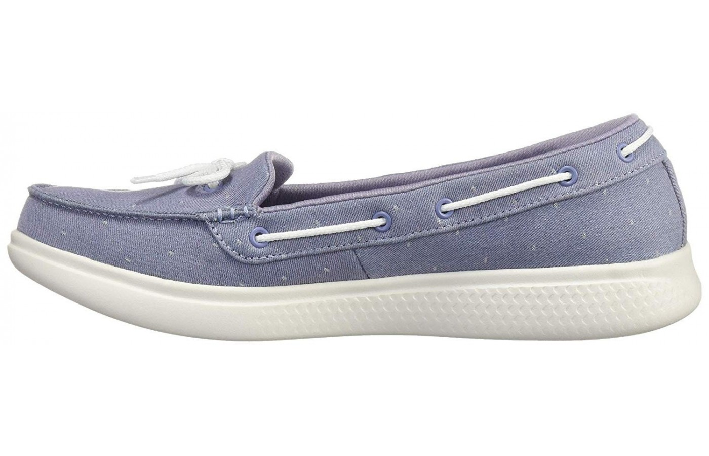 Skechers On The GO Glide Ultra Ocean is a deck-inspired shoe