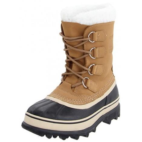 Sorel Caribou light brown & tan boots